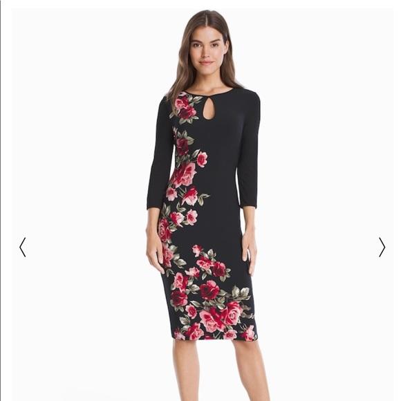 3179e61a8c WHBM brand NWT 3 4 jersey knit reversible dress